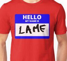ZOOLANDER 2 HELLO MY NAME IS LAME HANSEL HALLOWEEN Unisex T-Shirt