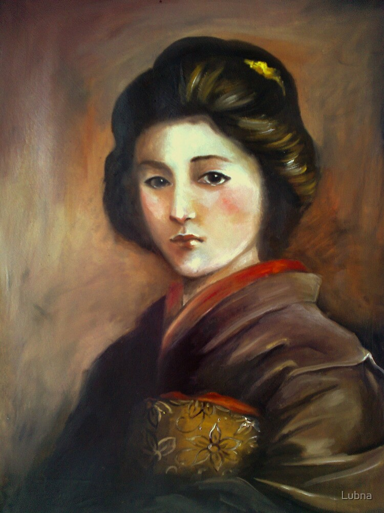 Japanese woman by Lubna