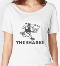 NATAL SHARKS FOR LIGHT SHIRTS SOUTH AFRICA RUGBY SUPER RUGBY Women's Relaxed Fit T-Shirt