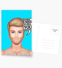 Ken needs to talk! Postcards