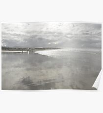 Misty Water-Colored Memories Poster