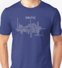 Deltic Names and Numbers Unisex T-Shirt