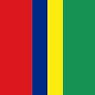 Mauritius Flag by pjwuebker