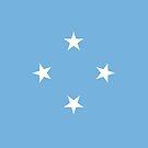 Micronesia Flag by pjwuebker
