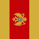Montenegro Flag by pjwuebker