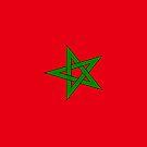 Morocco Flag by pjwuebker