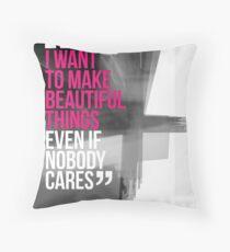 Creative Quote Design 001 Saul Bass Throw Pillow