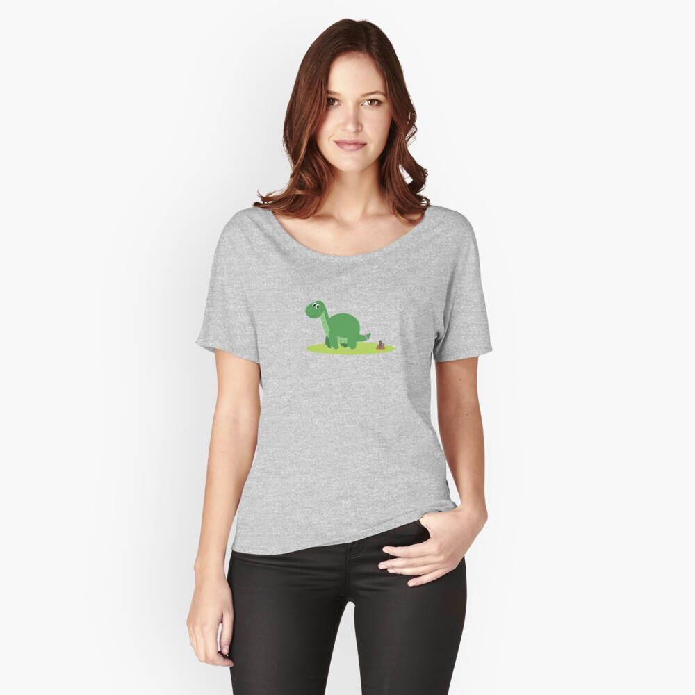 Dinosaur Women's Relaxed Fit T-Shirt Front
