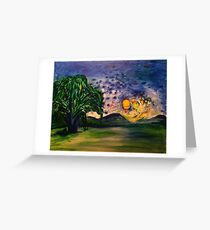 Letting go of grief Greeting Card
