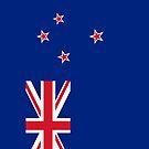 New Zealand Flag by pjwuebker