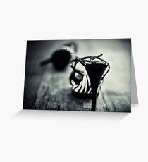 Be careful with my toes... Greeting Card