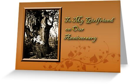 To My Girlfriend On Our Anniversary Willow Tree by jkartlife