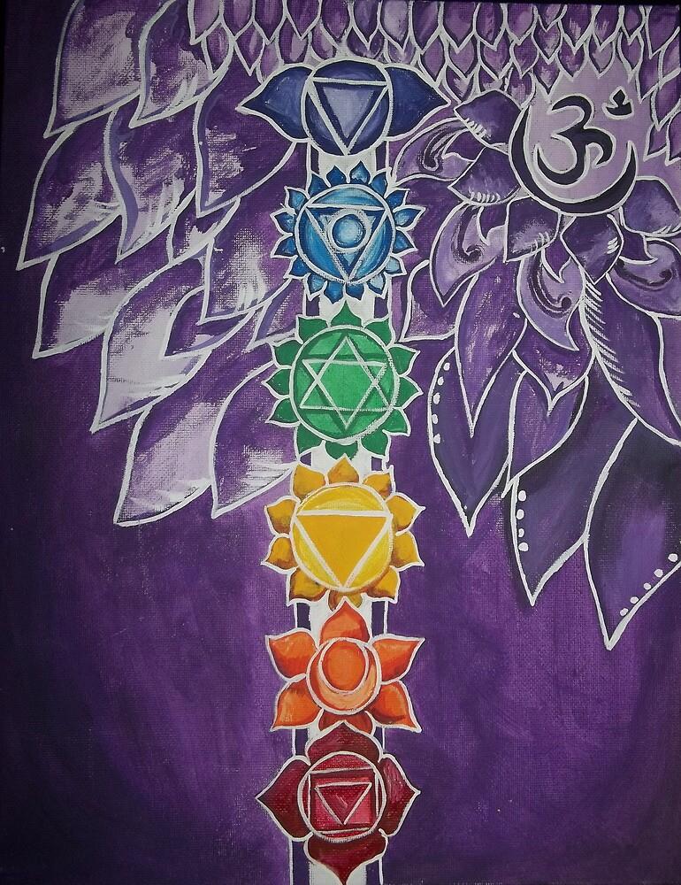 Chakras  by Keelie Webb