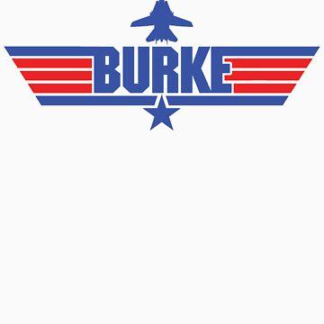 Custom Top Gun Style - Burke by CallsignShirts