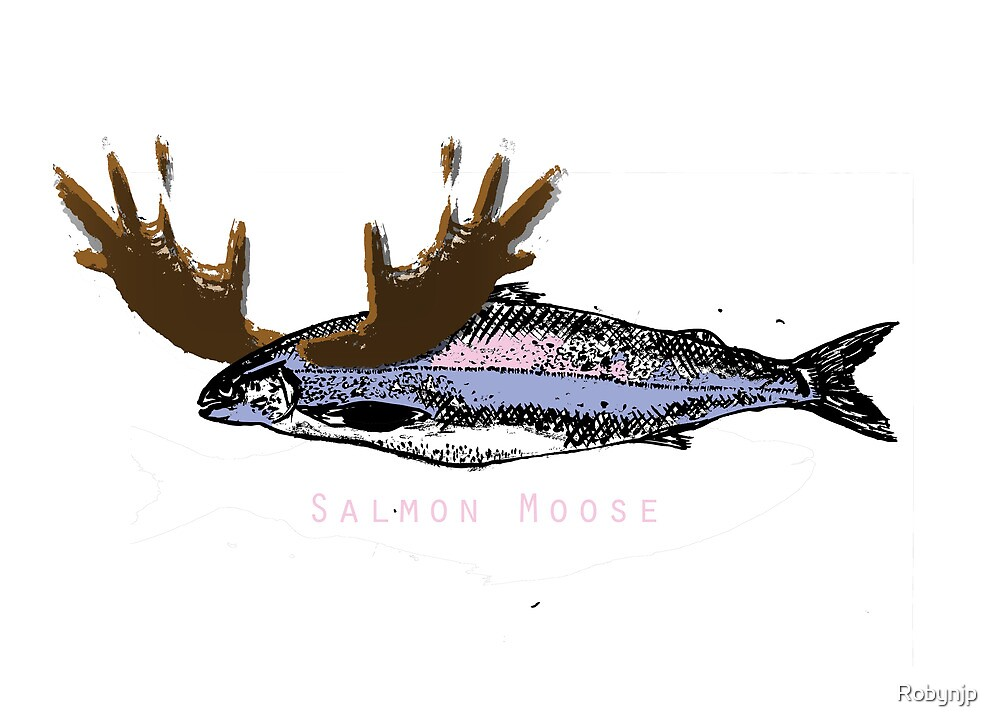 Salmon Moose by Robynjp