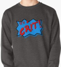 It's a CRIT! Pullover