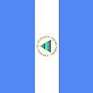Nicaragua Flag by pjwuebker