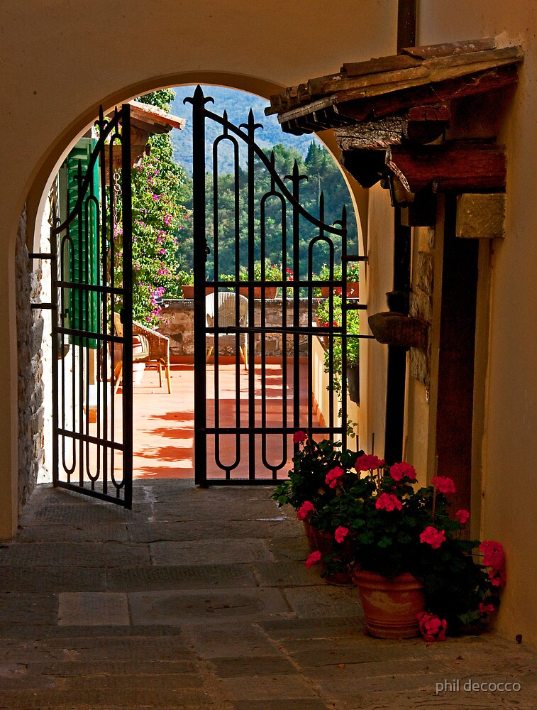 Terrace Gate by phil decocco