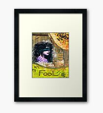 The Foolish Girl Framed Print