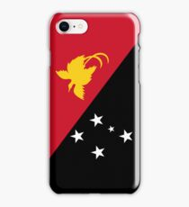 Papua New Guinea Flag iPhone Case/Skin