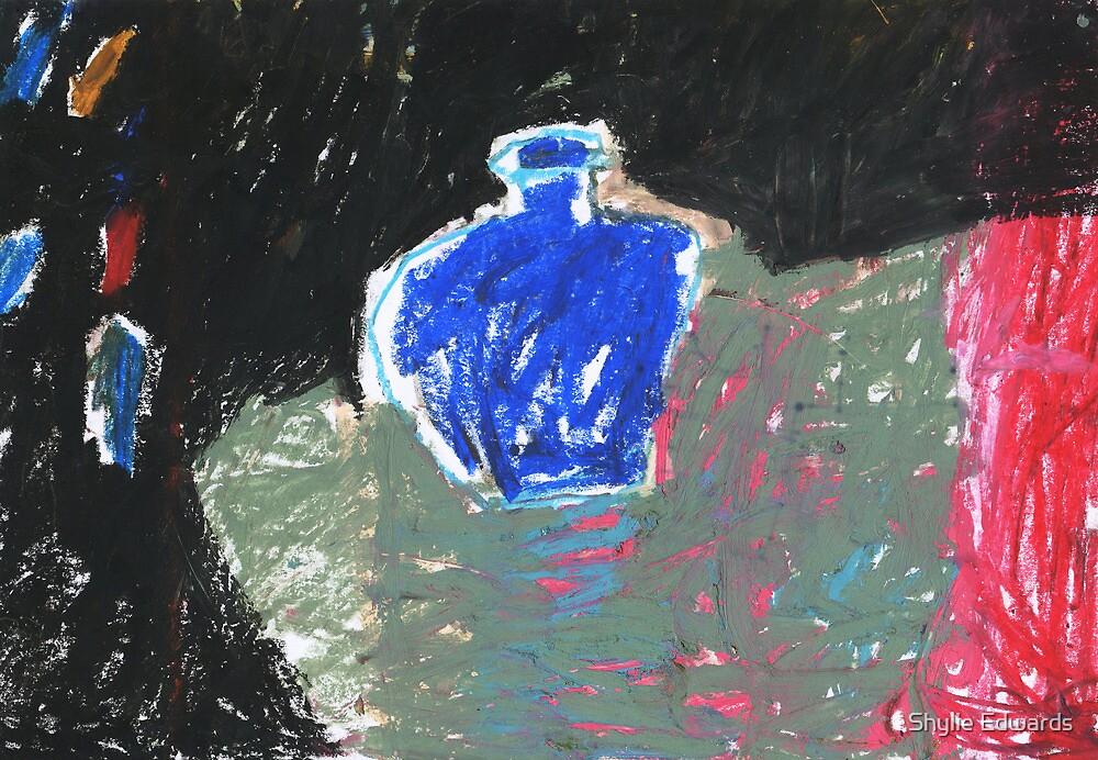 blue bottle by Shylie Edwards