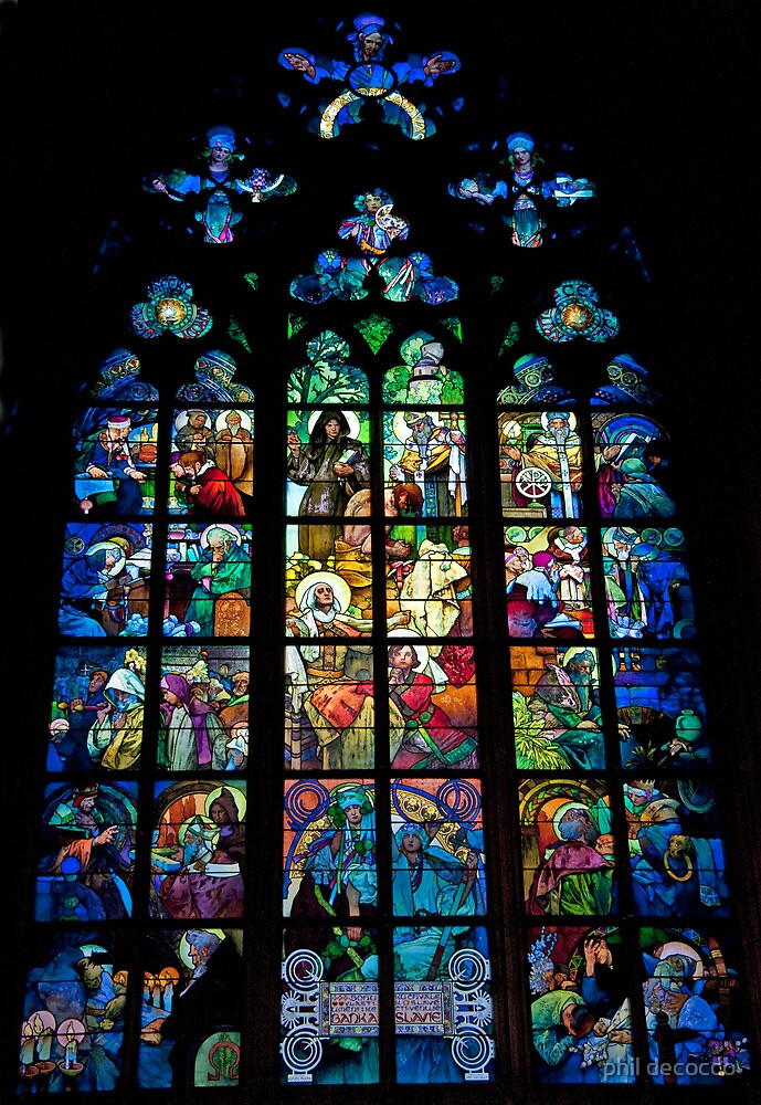 Stained Glass Montage by phil decocco