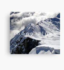 Rhone Alpes E-book Canvas Print