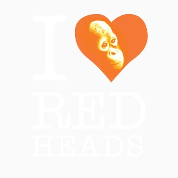 I heart (love) redheads by Orangutan