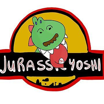 Jurassic Yoshi by CanDeuCrafts