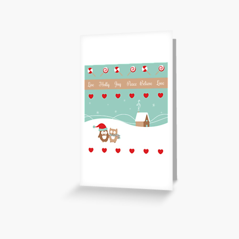 Enjoy The Season (illustration only) Greeting Card