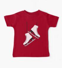 White female Skates Baby Tee