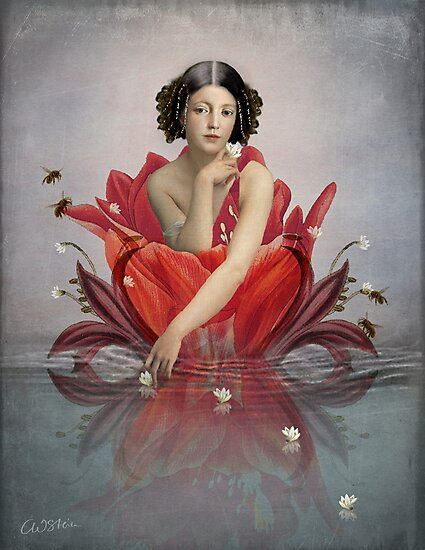 Floating Flower by Catrin Welz-Stein