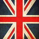 Grunge Effect Union Jack by itsjensworld