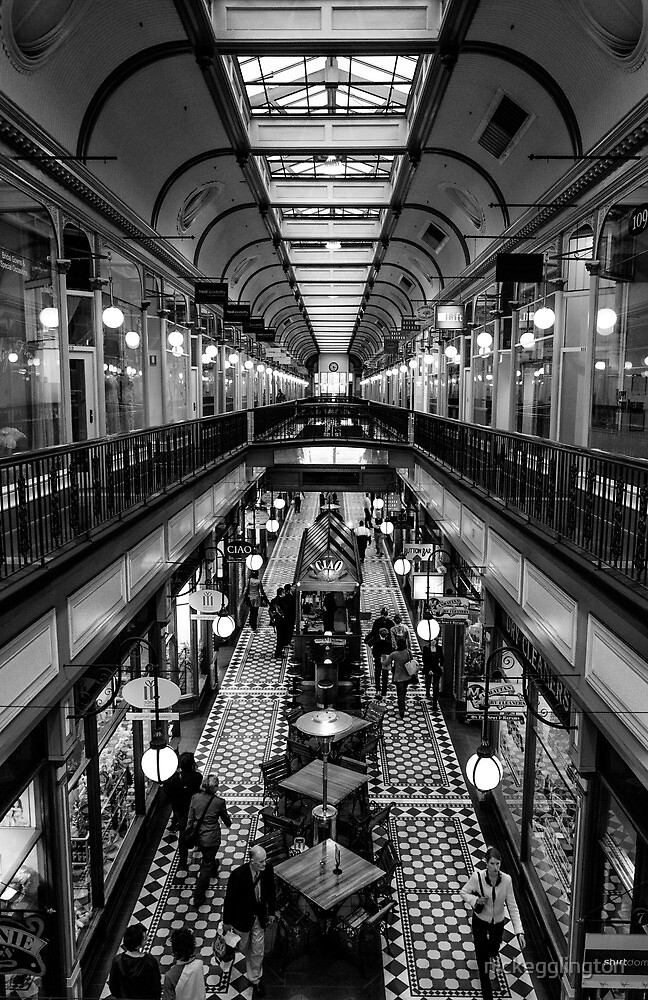 Adelaide Arcade. by Nick Griffin