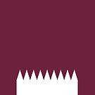 Qatar Flag by pjwuebker