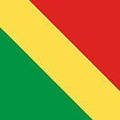 Republic of the Congo Flag by pjwuebker
