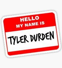 My Name Is Tyler Durden Sticker