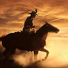 The Cowboy by Wojciech Dabrowski