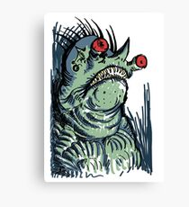 Scary Goblin Canvas Print