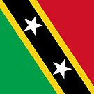 Saint Kitts and Nevis Flag by pjwuebker