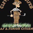 Golfer Cleverly Disguised As A Senior Citizen by SportsT-Shirts