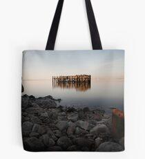 Abandoned Moorings, Teesmouth Tote Bag