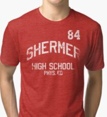 Shermer High School '84 Tri-Blend T-shirt