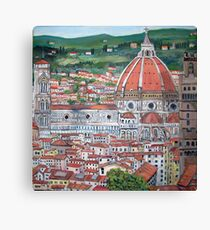The Duomo of Florence Canvas Print