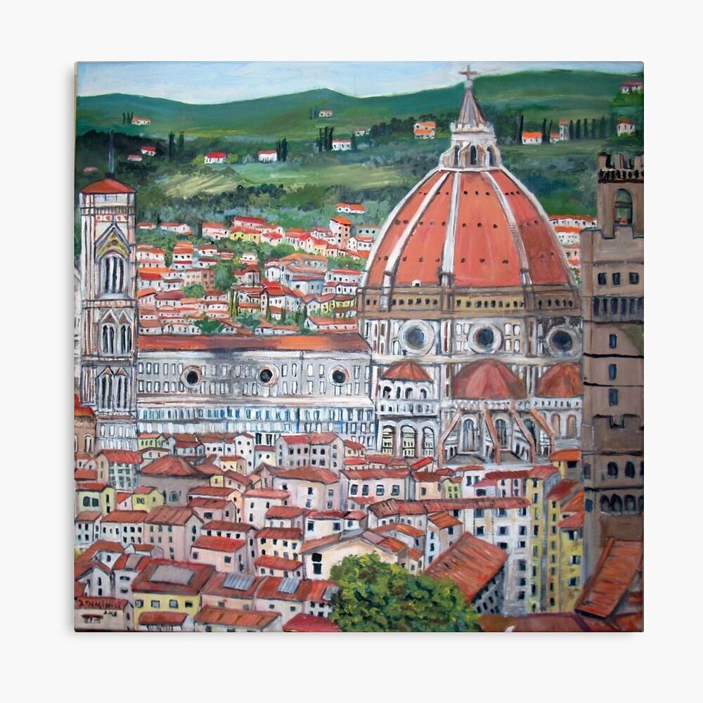 The Duomo of Florence Leinwanddruck