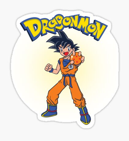 Dragonmon Sticker