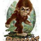 Daddy's Lil' Bigfoot by MudgeStudios
