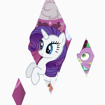 Rarity Diamond by owlbert