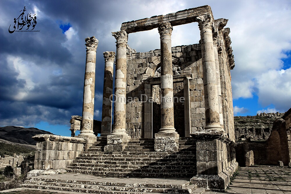 Temple of the Septimian Family by Omar Dakhane