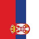 Serbia Flag by pjwuebker